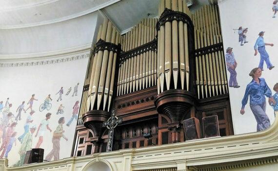 1910 Austin Pipe Organ